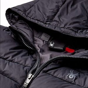 NWT Spyder Nexus Puffer Insulated Jacket Black